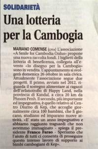 Articolo Giornale Cantù 2014 10 11 -s