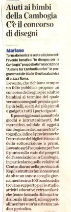 Articolo Giornale Cantù 2014 10 25 1 -s