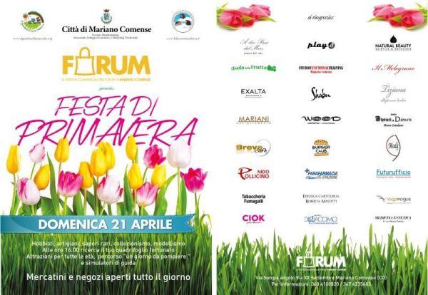Locandina Mercatino Forum Mariano 2013_04_21