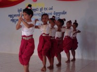 Dancers at Don Bosco School