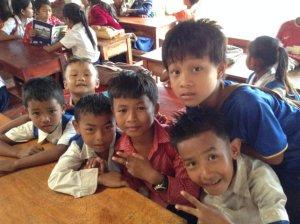 Children in the center -s